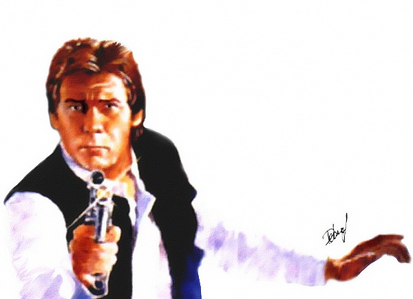 Harrison Ford by Deberg